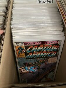 Lot of (15) DIFFERENT ALL Captain America Comic Books