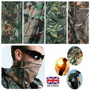 Realtree Real Tree Leaf Camouflage Camo Snood Scarf Face Mask Head Cover Hat zs