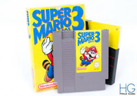 Super Mario Bros 3 Boxed - Nintendo NES Retro Game Cartridge PAL