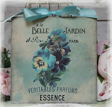 """Belle Jardin"" ~ Vintage Shabby Chic Country Cottage Chic style Wall Decor. Sign"