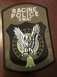 Wisconsin   Police -  Racine Swat  Police  WI  Police  Patch
