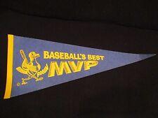 "1989 Robin Yount MVP ""Robin""  Milwaukee Brewers 29""x12"" pennant RARE"