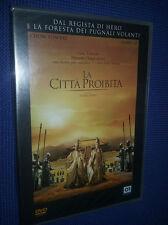 cofanetto+DVD nuovo film LA CITTÀ PROIBITA** dal regista di Hero