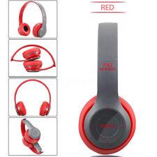 🔥 a través de Bluetooth Auricular Estéreo Auriculares Audífonos Head Plegable Micrófono Inalámbrico
