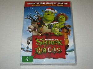 Shrek The Halls - Holiday Special - Brand New & Sealed - Region 4 - DVD