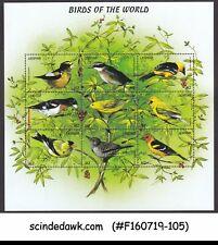 LESOTHO - 1999 BIRDS OF THE WORLD - MIN. SHEET MNH