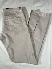 Dior Homme Men's Beige Jeans Button Fly Mens Size 36 X 36