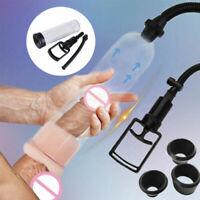 """8"""" Pump Enlarger Vacuum Erection Enhancer Power Up Extender Stretcher Male"""
