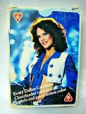 Vtg Dallas Cowboys Cheerleaders Playing Cards 1981 Opened Original New Old Stock