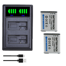 2x LI-90B Battery+ LCD Charger for Olympus  SH-1 SH-2 SP-100 IHS Tough TG-1 TG-2