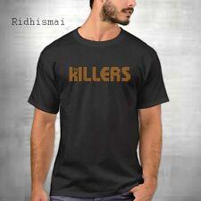 New THE KILLERS Rock Band Logo Men's Black T-Shirt Size S M L XL to 5XL AB-KLR