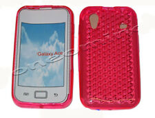 Per Samsung Galaxy ACE GT S5830i S5839i gel Jelly Morbida Custodia Protezione Cover Rosa