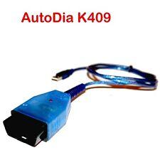 OBD2 Diagnose Interface AutoDia K409 USB KKL für VW Audi Seat Skoda V2021+