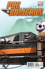 Star Wars Poe Dameron # 1 Celebration Variant Cover NM