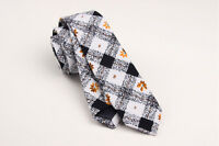 Men's Cotton Checked Floral Neck Tie Leisure Necktie Narrow Slim Skinny SK505
