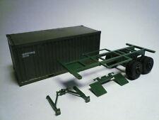 Trident US Army-NATO Milvan 20' Container Trailer 1:87 90079 (2 Photos)