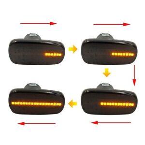 2pc Smoke Lens Dynamic LED Side Marker Blinker Light Lamp For 2004-2006 Scion xB