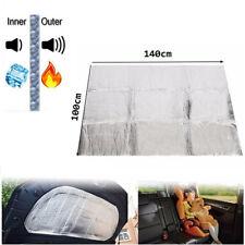 Car Turbo Exhaust Muffler Insulation Hood Heat Shield Mat Fiberglass Cotton Pad