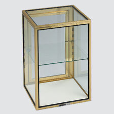 """Glass Showcase Tower Display 24""""Hx16""""W Carry Case Knockdown Made In The Usa New"""