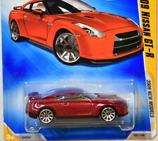 HOT WHEELS 2009 NEW MODELS 2009 NISSAN GT-R #01/42 RED