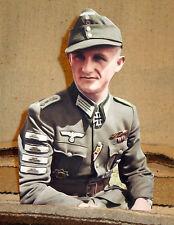 "German Army Panzergrenadier WW 2 Color Figure Tabletop Display Standee 10"" Tall"