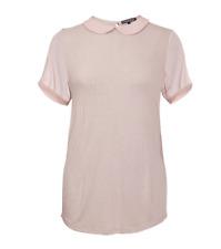 Damen Sommer Top Bluse von Apart Gr.40 Hellrosa mit Kragen