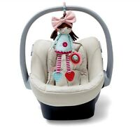 Baby infant girl polly activity  toy cot bed pram hanging developmental toy