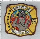 Boston Fire Department (Massachusetts Pumpin'29 District 11 Shoulder Patch