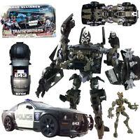 TRANSFORMERS Barricade & Decepticon Frenzy HUMAN ALLIANCE RD-24 POLICE CAR TOY