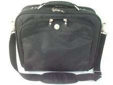 Dell Laptop Notebook Padded Carrying Case Shoulder Messenger Bag Black Nylon