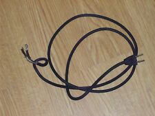 6' Belden grooved rubber wire & 2 pronged plug for electrical restoration