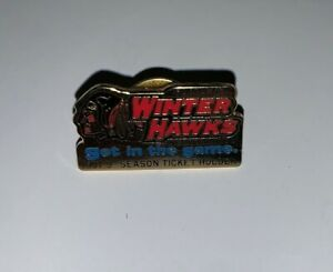 1997-98 Portland Winter Hawks Season Ticket Holders Tie Pin / Tie Tack