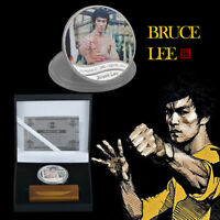 WR Enter the Dragon Chinese Kung Fu Bruce Lee Silver Coin Memorabilia Collection