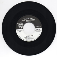 WILLIE TEE Walkin' Up A One Way Street NEW NORTHERN SOUL 45 (OUTTA SIGHT) 60s