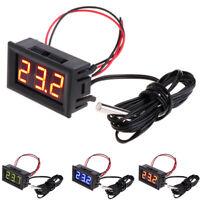 -50 ~ 110 °c Digital LED Thermometer Car Temperature Panel Meter Gauge