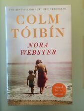 Colm Toibin SIGNED DATED LOCATED Norah Webster UK 1/1 HB