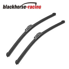 "22"" & 21"" Bracketless J-HOOK Windshield Wiper Blades OEM QUALITY All season"
