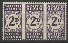 SOUTH AFRICA KGV1 1943-44 2d POSTAGE DUE UNIT MINT