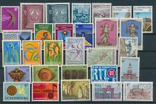 LL93173 Luxembourg nice lot of good stamps MNH