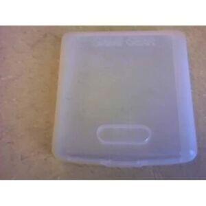 Official Plastic Case Of Sega Game Gear Cartridge-Plastic Case Encasement