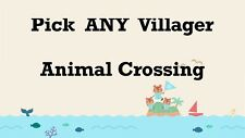 Animal Crossing Custom Amiibo NFC Card - PICK ANY VILLAGER!