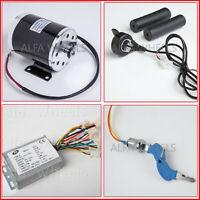 #35 500W 24V electric motor kit w Base Reverse Control+Thmb Throttle+Key Go-Kart