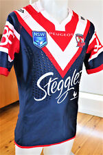 SYDNEY ROOSTERS  2017 JERSEY PLAYER ISSUED  S G BALL CUP  MENS SIZE   large
