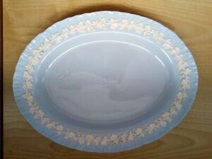 Large Wedgwood Embossed Queens Ware Serving Plate