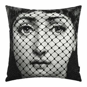Fornasetti Original Authentic T&V Pillow Cushion BURLESQUE