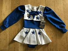 Dallas Cowboys Cheerleading Uniform Halloween Costume 2T