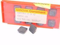 NEW SURPLUS 10pcs. SANDVIK  SEM 43A  Grade: H13A  CARBIDE INSERTS