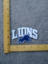 1 RARE DETROIT LIONS NFL FOOTBALL IRON ON PATCH