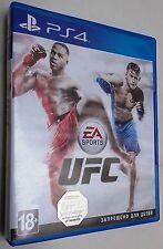 UFC EA Sport videogioco per PSA Playstation 4 in lingua russa, inglese ecc.