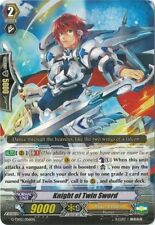 1x Cardfight!! Vanguard Knight of the Twin Sword - G-TD02/006EN (C) Near Mint